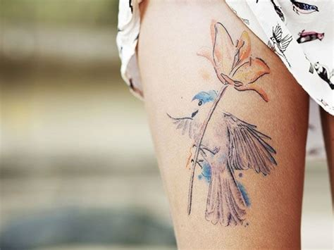 pretty thigh tattoo designs best thigh tattoos designs for collections