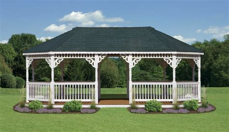 vinyl oval gazebos north country shedsnorth country sheds