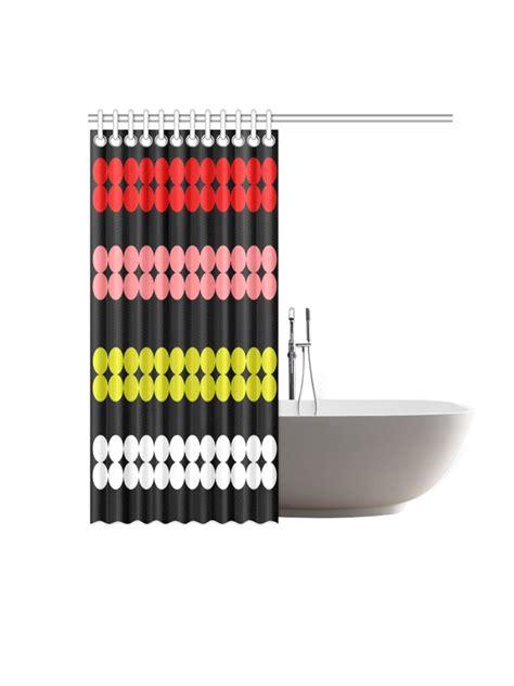 mod shower curtain mod dots shower curtain original design kayci garline