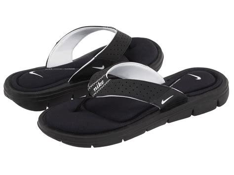 nike comfort thong nike comfort thong black white zappos com free shipping