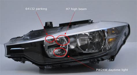 bmw parking light replacement pw24w led bulbs for bmw f30 328i 335i daytime running ls