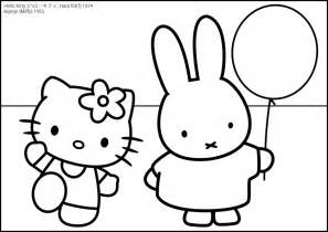 miffy coloring pages coloring