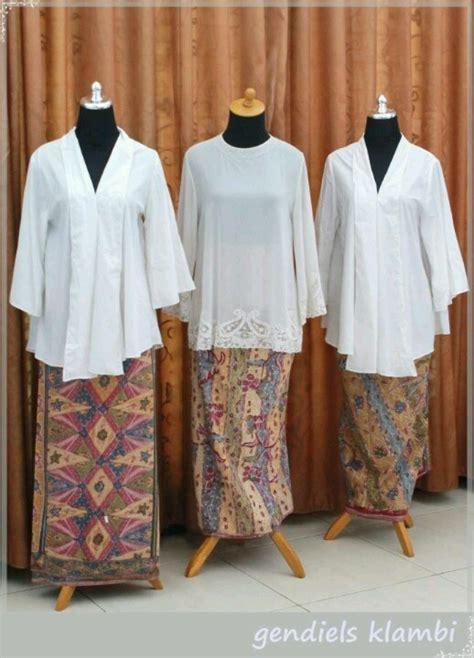 Kain Batik Embos Prada Ranting Putih 5 139 best images about kebaya kebaya on brokat traditional and kebaya