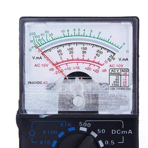 discharge a capacitor with a voltmeter buyincoins electric ac dc ohm voltmeter ammeter multimeter meter multi tester mf 110a lazada