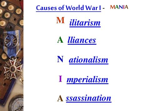Causes And Effects Of World War 1 Essay by Cause And Effect Essay About World