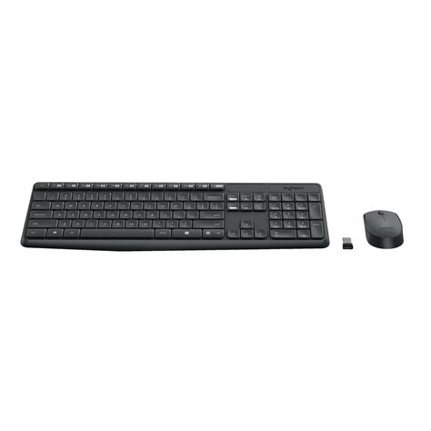 Grosir Logitech Combo Mk235 Mouse Keyboard Wireless logitech mk235 wireless keyboard and mouse combo officeworks
