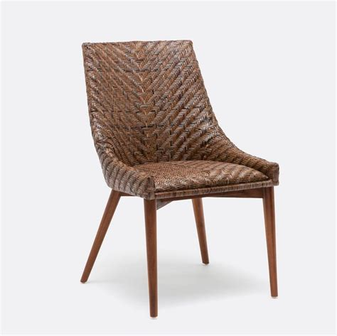 Wicker Dining Room Chair Best 25 Rattan Dining Chairs Ideas On Dining House Doctor And Vintage Modern Kitchens