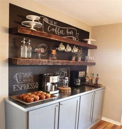 diy make at home dreadlock shoo bar 14 tips for diying a coffee bar at home brit co