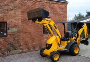 Jcb backhoe digger mini cx compact back hoe tractor for sale m04537