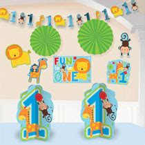 Decorating Kit Add An Age Birthday 243849 Isi 12 1st birthday decorations 1st birthday decorations for boys and mypartycentre