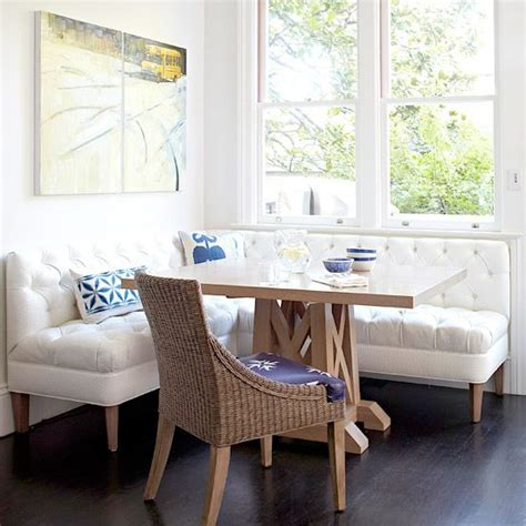 freestanding banquette seating space savvy breakfast room banquettes