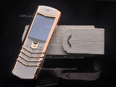 vertu signature rose gold  vertu phones modern design