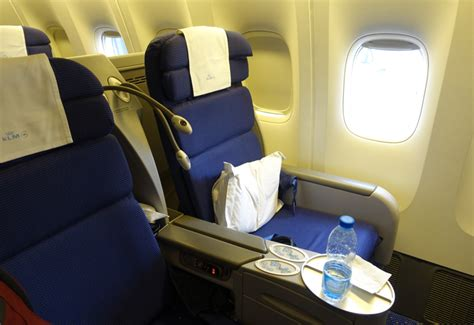 reviews on seats klm business class 777 review