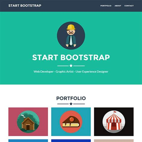 30 Best Free Bootstrap Html5 Website Templates Bootstrap Freelancer Template