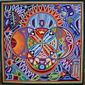 mexican pattern name inspiration mexican huichol art bix707