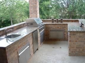 Outdoor Kitchen Granite Countertops Home Decor