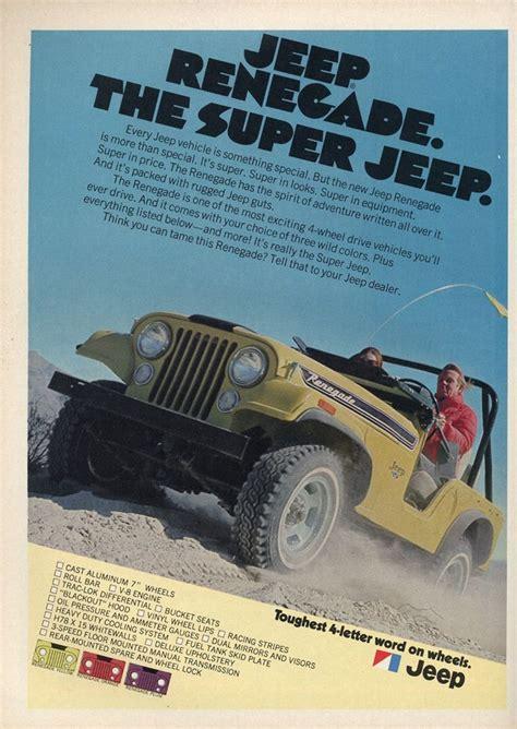 Jeep Advert 1972 Jeep Ad 0b