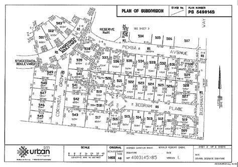 subdivision floor plan plan of subdivision lgam knowledge base