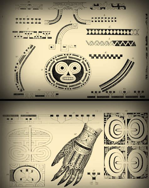 embodied symbols of the south seas tattoo in polynesia