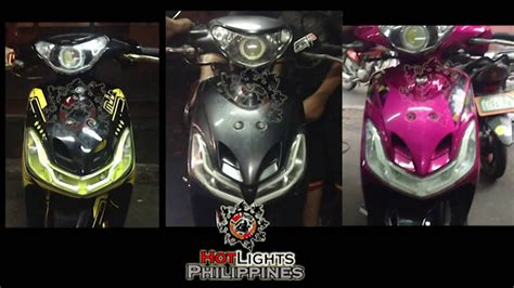 mio sporty projector n lights set up hotlights philippines
