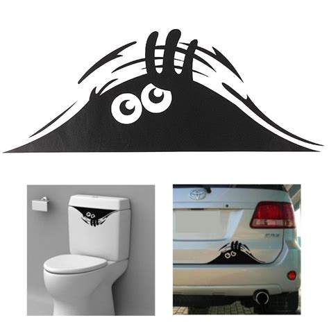 monster bathroom accessories car toilet monster bathroom decal seat decor removable diy