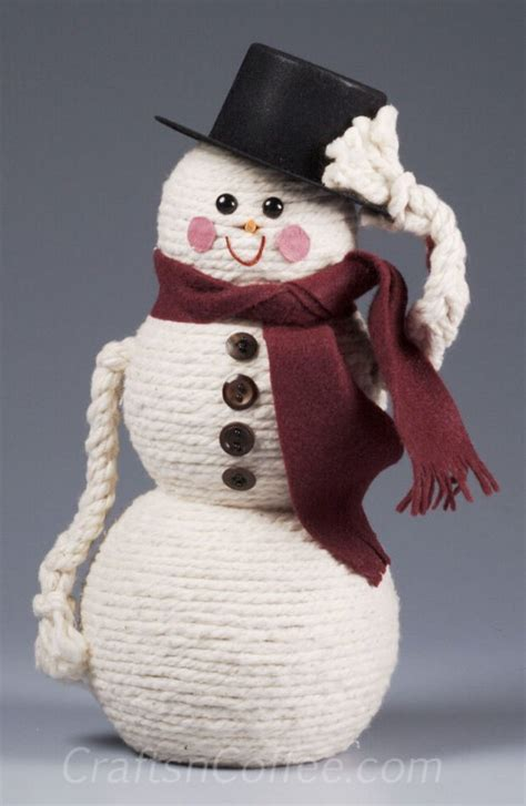 diy snowman craft ideas tutorials