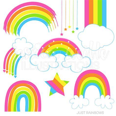 Rainbow Pink just rainbows digital clipart rainbow clip rainbow