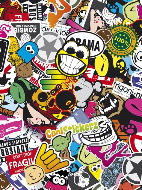 wall paper stickers gallery for gt sticker bomb wallpaper iphone