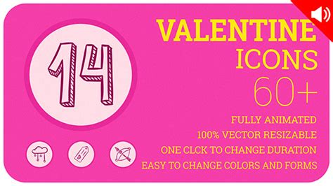 valentine icons technology after effects templates f5