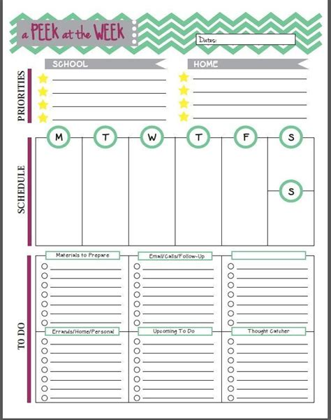free printable life planner pages 13 free planner pages and resources for teachers