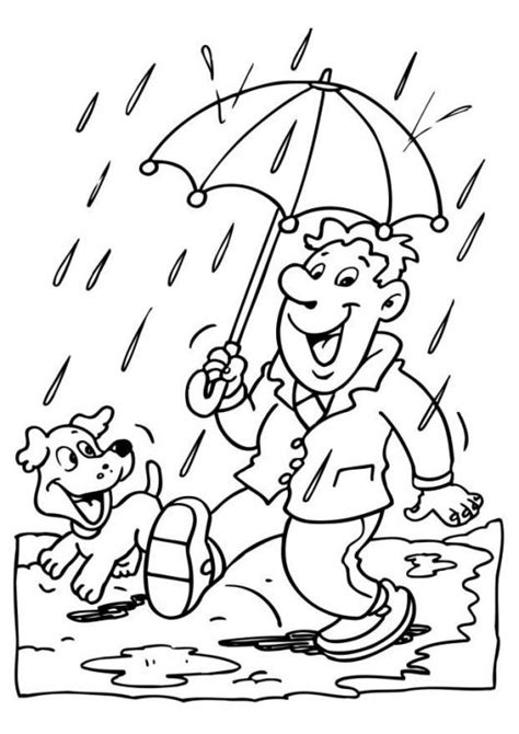 coloring pages of weather