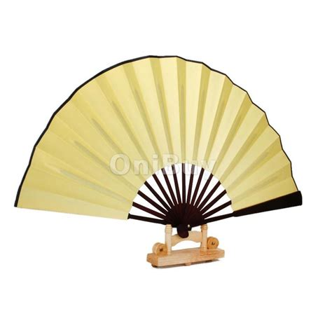 hand held folding fans vintage bamboo silk diy drawing painting calligraphy