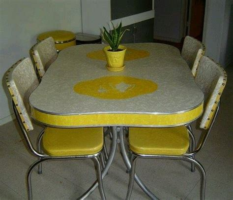 retro kitchen table and chairs retro
