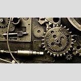 Gears And Clockwork Wallpaper   1920 x 1080 jpeg 473kB
