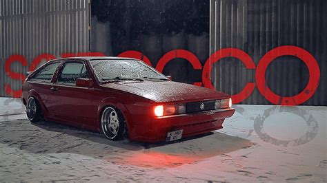 porsche with christmas tree vw scirocco porsche guard red christmas tree youtube