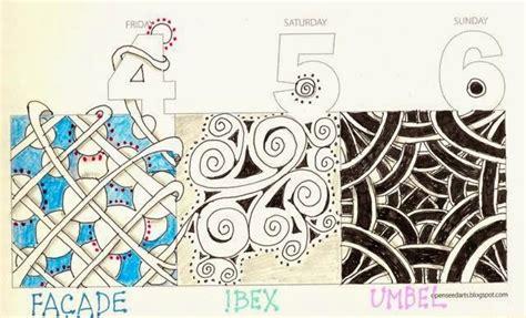 zentangle pattern ibex 12 best facade images on pinterest zentangle zen