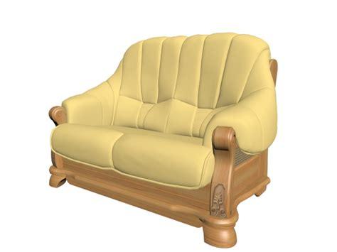wooden sofa models wooden sofa settee 3d model 3dsmax files free download