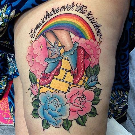 wizard of oz tattoos collection of 25 beautiful wizard