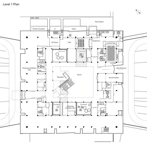 Floor Plan Design gallery of yunnan museum rocco design architects 23