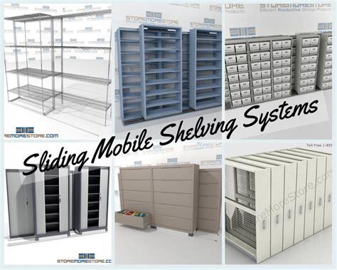 Sliding Shelf System by Sliding Mobile Shelves The Store