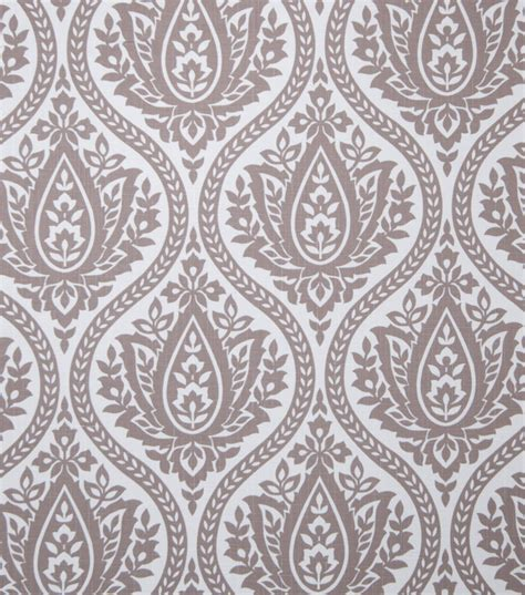 home decor print fabric eaton square farrell mocha jo