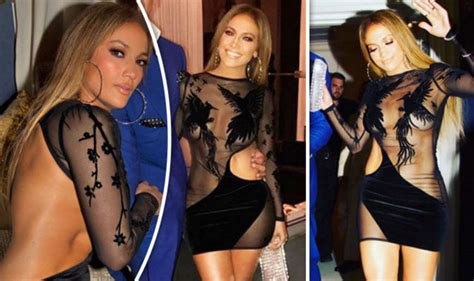 liv lo birthday jennifer lopez goes braless and knickerless in daring see