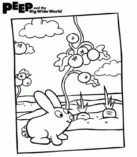 Peep And The Big Wide World Coloring Pages Peep And The Big Wide World Coloring Pages