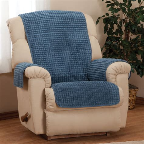 Recliner Protectors by Chenille Recliner Furniture Protector Chair Cover