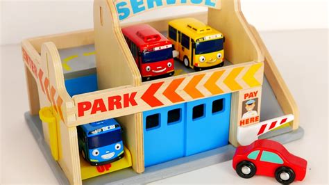 Car Garage Toys Toddlers by Parking Garage Services Playset For Tayo And
