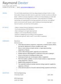 Cv Template Electrician by Electrician Resume Exle Hashtag Cv