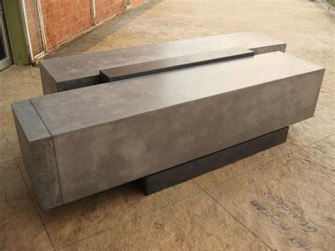 concrete block bench stylish concrete block bench demonstrates the value of workshops concrete decor