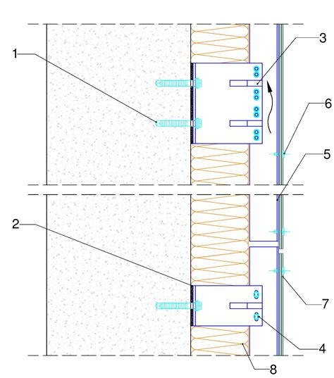 repository pattern facade ventilated fa 231 ade structures plantas lt