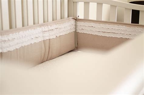 Burlap Crib Bedding by Vintage Inspired Nursery
