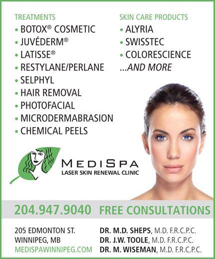 canada hair removal clinic medispa laser skin renewal clinic 6 1170 taylor ave